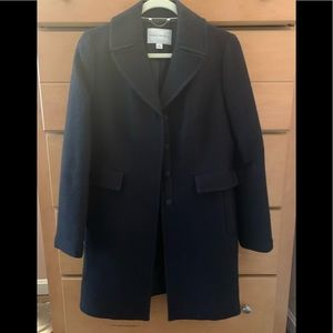 Banana Republic Boucle wool coat M